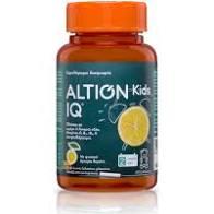 Altion Kids IQ Συμπλήρωμα Διατροφής με Ω3 Λιπαρά Οξέα 60 ζελεδάκια