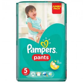 Pampers Pants Jumbo Pack Μέγεθος 5 (12-17kg) 48τμχ