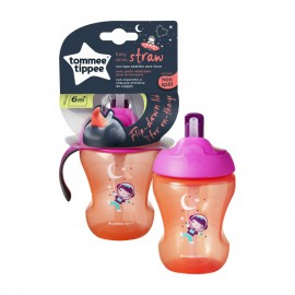 Tommee Tipee Easy Drink Straw Cup 6m+ 230ml Purple