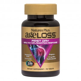 Natures Plus AgeLoss First Day Healthy Inflammation Response 90 ταμπλέτες