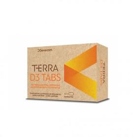 Genecom Terra D3 1200 IU 60 tabs
