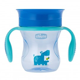 Chicco Perfect Cup 2 σε 1 200ml 12+ Months Μπλε