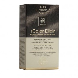 Apivita My Color Elixir 6.18 Ξανθό Σκούρο Σαντρέ Περλέ