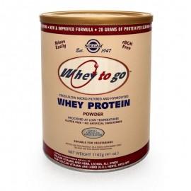 Solgar Whey To Go Protein Chocolate 1162gr