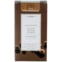 Korres Βαφή Argan Oil Advanced Colorant 7.0 Ξανθό