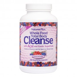 Natures Plus Whole Food Total Body Cleanse with Açaí 180 Capsules