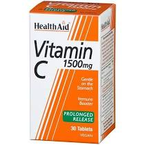 Health Aid Vitamin C 1500mg Prolonged Release 30 tablets