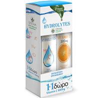 Power Health Hydrolytes 20s +ΔΩΡΟ Vitamin C 500mg 20s