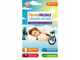 FeverMates Cooling Patches Επιθέματα Πυρετού 6paches