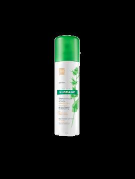 Klorane Ξηρό Σαμπουάν Με Τσουκνίδα για Λιπαρά Καστανά/Μαύρα μαλλιά 150ml