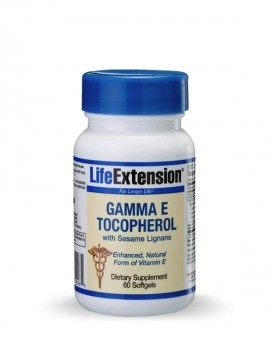 LIFE EXTENSION Gamma Ε Tocopherol with sesame lignans