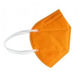 Welooo Μάσκα Προστασίας FFP2 (BFE>98%)  Πορτοκαλί 1τεμ