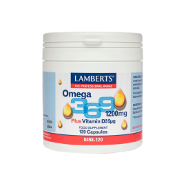 Lamberts Omega 3-6-9 1200mg 120 caps