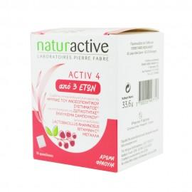 Naturactive Activ4 3+ Ετών 14 φακελάκια Φράουλα