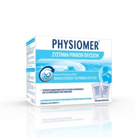 Physiomer Φακελλίσκοι Για Ρινική Πλύση 30 Τεμάχια