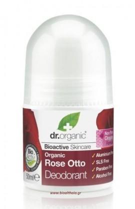 Dr.Organic Rose Otto Deodorant 50 ml