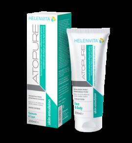 Helenvita Atopure Skin Emulsion Καταπραϋντικό Γαλάκτωμα για Δέρμα με Τάση Ατοπίας 200ml