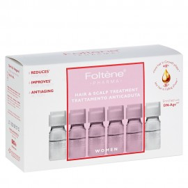 Foltene Women Hair & Scalp Treatment Αγωγή με Αμπούλες Κατά της Γυναικείας Τριχόπτωσης 12 vials