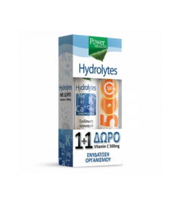 Power Health Hydrolytes 20s +ΔΩΡΟ Vitamin C 500mg 20s