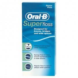 Oral B Super Floss 50τεμαχια