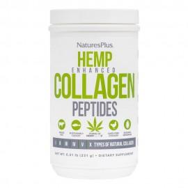 NaturesPlus Hemp Enhanced Collagen Peptides 231gr