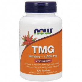 Now TMG Betaine 1000mg 100tabs