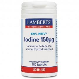 Lamberts Iodine 150μg 180tablets