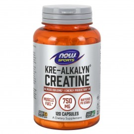 Now Kre Alkalyn Creatine 120 caps