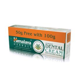 Himalaya Herbals Dental Cream Οδοντόκρεμα 100g+50g ΔΩΡΟ