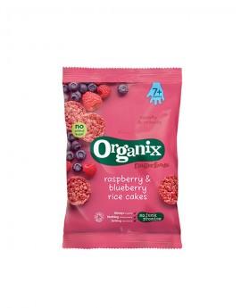 ORGANIX Ρυζογκοφρέτα Βατόμουρο & Μύρτιλλο +7μ (50γρ)