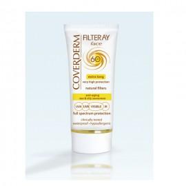 Coverderm Filteray Tinted Light Beige Face Cream SPF60 50ml