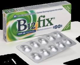 Uni-Pharma B12 fix 1000μg 30 ταμπλέτες
