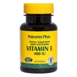 NaturesPlus Vitamin E 400 I.U. 60 μαλακές κάψουλες