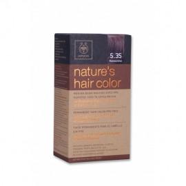 APIVITA Φυσική βαφή μαλλιών 5.35 Καπουτσίνο