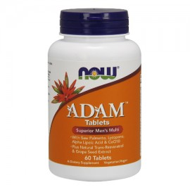 NOW Adam Superior Mens Multiple Vitamin 60 ταμπλέτες