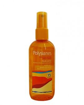 Polysianes Huile Seche Corps&Cheveux SPF15 150ml
