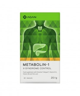 Agan Metabolin 1 X-Syndrome Control 60vegicaps
