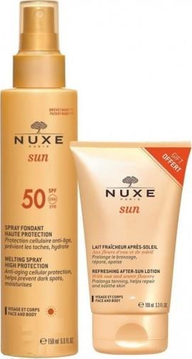 Nuxe Promo Sun Melting Spray SPF50 Αντηλιακό Γαλάκτωμα για Πρόσωπο/Σώμα 150ml & ΔΩΡΟ Refreshing After Sun Lotion 100ml