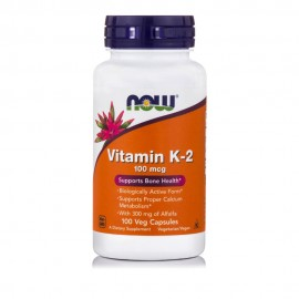 Now Foods Vitamin K-2 100mcg 100Veg Capsules