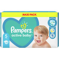 Pampers Active Baby Maxi Pack No.5 (11-16kg) 50τμχ