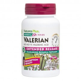 Natures Plus Herbal Actives Valerian 600mg 30tablets