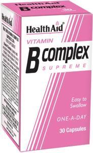 HealthAid B Complex Supreme 30capsules