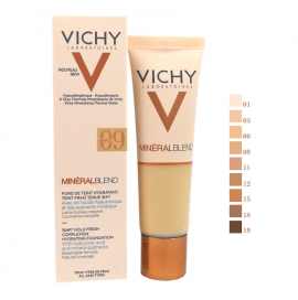 Vichy Mineralblend Fond De Teint Hydratant 09 Agate 30ml