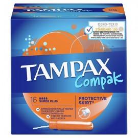 Tampax Compak Super Plus με Απλικατέρ 16τμχ