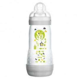 Mam Easy Start Anti-Colic, Πλαστικό Μπιμπερό, Θηλή Σιλικόνης Λευκό 320ml