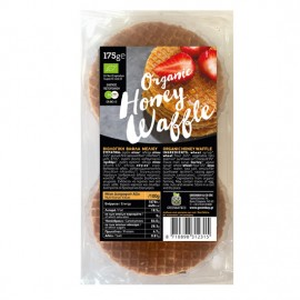Organic Honey Waffle Βάφλες Μελιού (175γρ)