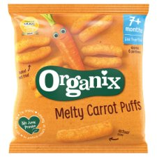 Organix Carrot sticks από 7 μηνών 20g