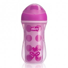 Chicco Active Cup Ροζ-Μωβ 14m+ 266ml