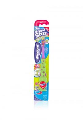 WISDOM Bright Star Παιδική Οδοντόβουρτσα 3+