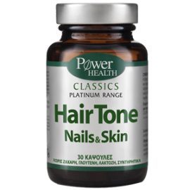 Power Health Platinum Classics-Hair Tone Nails & Skin 30caps